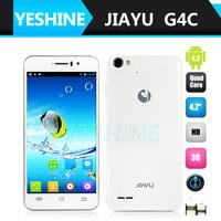 "JIAYU smartphone G4C 1GB RAM+4GB ROM 4.7"" IPS screen MT6582 1.3Ghz quad-core OGS Multi-touch,Gorilla Glass 2 Rear Camera: 13.0mp"