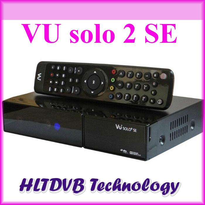 DHL free shipping vu solo 2 se Linux OS Vu Plus 1300 MHz CPU vu solo2 Twin tuner hd Linux OS satellite tv receiver(China (Mainland))
