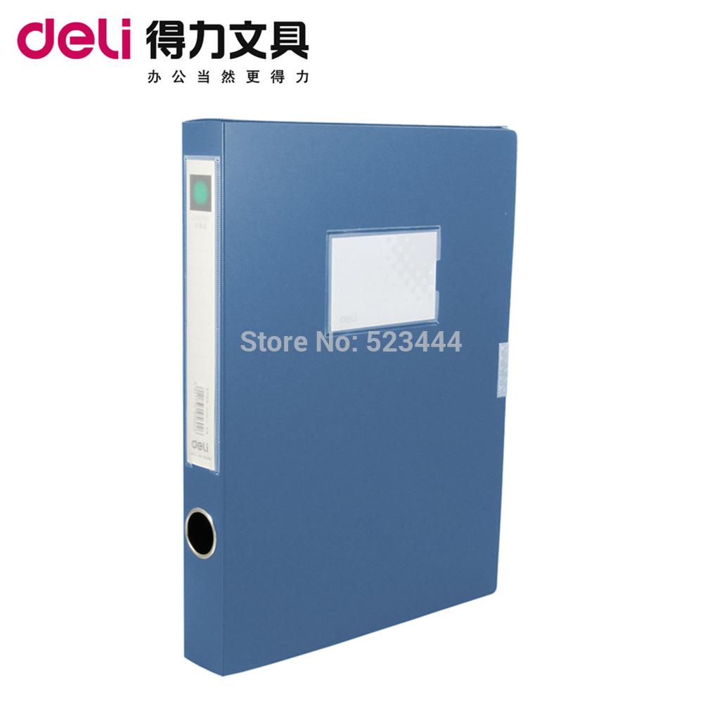 File box plastic a4 de licacy 5602 2 file storage box information box 35mm supplies(China (Mainland))