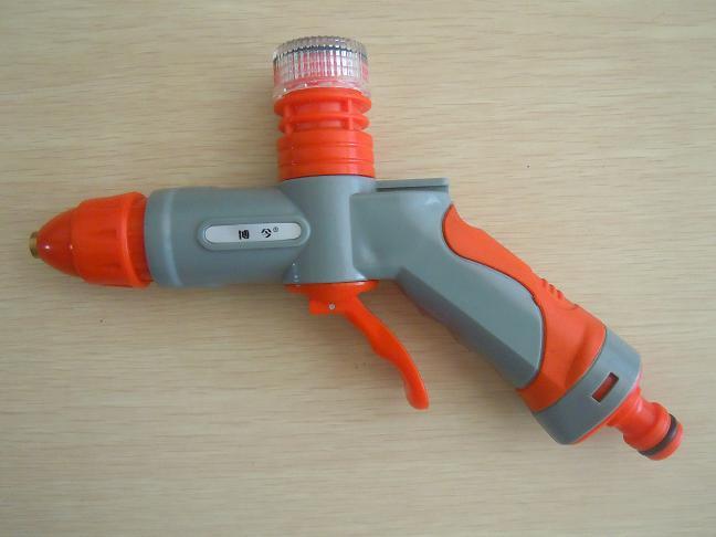 Free Shipping High Quality Foam Water Gun High Pressure Cleaning Gun Copper Head Gun Electric Car Wash Device Water Gun(China (Mainland))