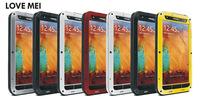 Aluminum Metal Gorilla Waterproof Case Cover For Samsung Galaxy Note3 N9000 Love Mei