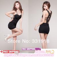 Hot Sale! Sexy Lingerie  Women Club Wear Mini Dress
