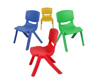 Plastic Thicken 26*26*52.5cm 1.55kg Backrest Kindergarden Furniture chairs for Children MOQ:1pcs Free shipping