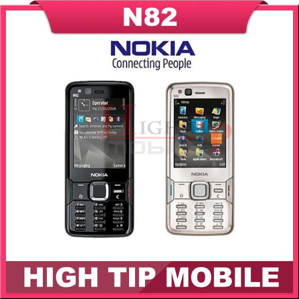 Original Unlocked NOKIA N82 GSM Mobile Phone Camera 5MP WIFI 3G GPS Phone Refurbished 1 Year Warranty Fast Free Shipping(China (Mainland))