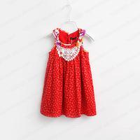 Super beautiful ! 2014 New children's fashion dress,floral girls dress, princess kids dress girl, designer girls' dresses