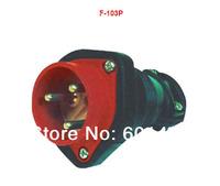 Electrical Electrical / industrial plug / socket / connector /Latex plug /F-103P
