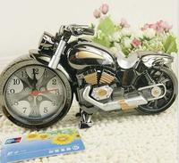 Cool Motorcycle Alarm Clock Home Decor Personalized Fashion Creative Gift Table Desktop Alarm Clocks J2080