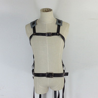 Free Shipping Cosplay Costume  Attack On Titan Shingeki no Kyojin Cosplay Belts Adjustable Harness Straps Retail / Wholesale