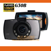 HD 1080P Car camera G30B NTK 96220 car video recorder with G-Sensor Parking monitoring Mode  Car dvr