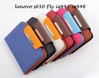 leather Filp Wallet Case Cover For lenovo s650 Fly iq441 iq446 magic iq443 trend iq4411 iq4404 HAIER W910 Gionee GN708W FA001