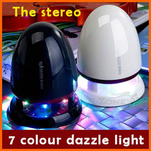Yayun Shi laptop desktop usb mini speaker stereo subwoofer portable media influence(China (Mainland))