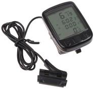 New Odometer Speedometer Cycling speedometer Waterproof cycling computer Cycle Odometer Black Bike Bicycle Wired