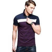 Hot 2014 Men's Fashion Short-Sleeved Polo Shirt 100% Cotton Polo Ralph Men Slim Fit Sports Tops Tees KPT-1015