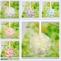 8 inch (20cm) Wedding Artificial Foam Rose Kissing Ball Flower Pomander Bouquet Ball Wholesale accepted