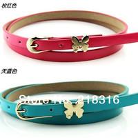 2014 women's strap fashion clothing bow belt small strap women's belt