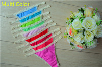 G-string G String Thong Women Seamless Panty Lace Sexy Lingerie T Back Underwear Female Mid Waistline Free Gift Night Wear WHD05