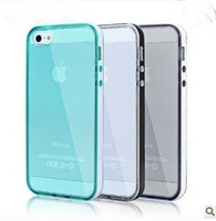 For iphone 5s Transparent Soft Silicone TPU Protecitve Phone CaseUltra Thin Slim Back Cover for iphone 5