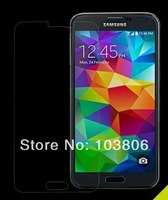 500pcs 0.4 MM  Tempered Glass Screen Protector Film For Samsung Galaxy S5 i9600 G900F +  Retail Package