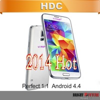 DHL Free Shipping HDC Perfect copy i9600 G900 S5 phone 1:1 dual core MTK6572, Quad Core MTK6582 1GB RAM 3G WCDMA Android 4.4