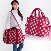 Free Shipping! 2015 Hot Sale Baby Diaper Bag Nappy Bag Mummy Bag Baby Bags With Fasion Printing Handbag  L0011