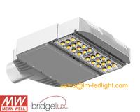 Aluminum led street lights 30W MeanWell LED driver 85-265V Bridgelux 45mil daylight white 4000K 4500K led street free shipping