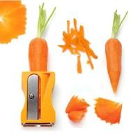 New Hot Carrot Cucumber Sharpener Peeler Kitchen Tool Vegetable Fruit Curl Slicer