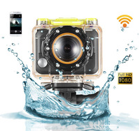 Ambarella A5S Cameras G8800 Simple with WIFI control by Phone 1080P Full HD 60 meters waterproof VS Gopro Hero3 Black Edition