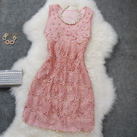 new 2014 fashion woman brand high quality embroidery evening dress,party dresses, summer dress 2014,dresses new fashion 2014