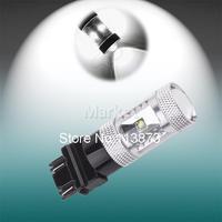 10pcs 3156 3157 P27/7W T25 25W Cree XPE LED Lamp car Fog Head Bulb auto Vehicles Turn Signal Tail Brake Lights car light source