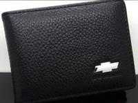Genuine Leather License Bag chevrolet Cruze Aveo CAMARO EPICA CAPTIVA Spark Malibu wallet purse