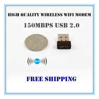 Promotion Sale 150Mbps Mini USB Wireless WiFi Modem 802.11n WLAN Network Dongle for PC Ipad Russia