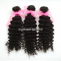 Peruvian virgin hair curly 3pcs lot 100% human hair products remy human hair extension free shipping hair extensions