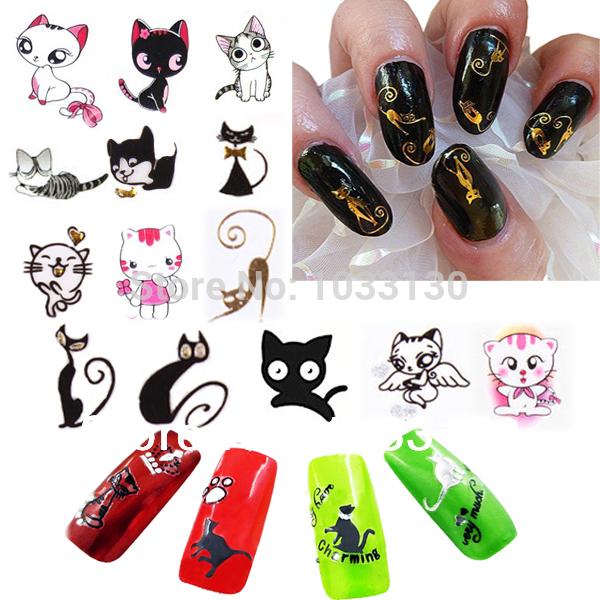 Наклейки для ногтей Unbranded 24 24 3D Nail sticker