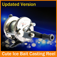 Free Shiping Bait Casting 3.6:1 Ratio Powerful Gear Lure Reel baitcasting Left/Right Reel Bag Low Profile  Fishing Tackle