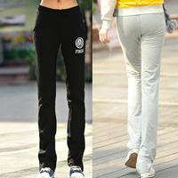 Plus Size 2014 Elasticity Cotton Skinny Slim Sports Loose Long Feet Boot Cut Pencil Trousers Pants&Capris Women's Clothing