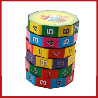 cointree New Children Kids Mathematics Numbers Magic Cube Toy Puzzle Game Gift wholesale