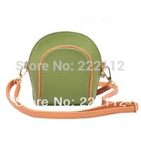 Candy Color Shell Small Women Shoulder Bags Leather Handbags bolsas femininas 2014 Designers Brand Messenger Bags Evening Bags