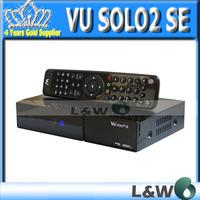 Vu solo 2 SE New model of vu solo2 mini add esata Twin DVB-S2 Tuner Satellite TV Receiver  fedex free shipping