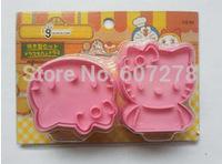 wholesale 5 sets of 2pcs kitty cutter for fondant cake decoration