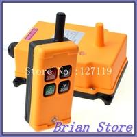 1 Tansmitter 4 Channels 1 Speed Control Hoist industrial wireless  Crane Radio Remote Control System