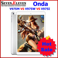 ONDA V975I VS V975m V3 Bluetooth 9.7 Inch Touch Screen Tablet Quad Core 2.0Ghz  2GB RAM 16G/32G ROM  Screen 2048x1536 White