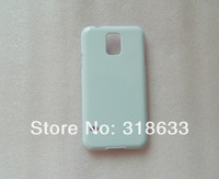 Glossy and matte white  for samsung galaxy S5 3D DIY blank sublimation case, full area printable free shipping