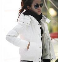 Casacos Femininos Autumn And Winter Jackets Women Slim Thickening Hood Short Cotton-Padded Jaqueta Feminina Winter Coat Women