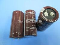 6pcs Radial Electrolytic Capacitor 50v 10000uf 105C 10000uf capacitor electrolytic  Free shipping