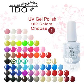 Горячая распродажа IDO 162 цвета выбрать ( любые 1 цветов ) x 15 мл ногтей художественный салон маникюр выдерживает с геля для ногтей
