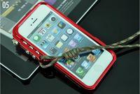 trigger metal bumper for iphone M2 4th design premium aluminum bumper case for iphone 5 5S 4s 4 tactical edition