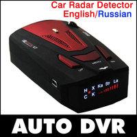 NEW 2014 car radar Car Anti Radar Detector 16 Band Anti-Police Radar Detector X K NK Ku Ka Laser VG-2 V7 model LED display