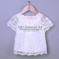 New Summer Girls T Shirt Short Cool Summer Tshirts Baby Girls Tops Wear Chilrdren Clohing Kids Wear Free Shipping