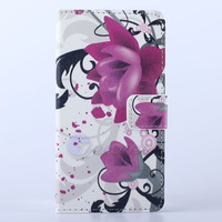 2014 Plum Blossom Zebra Meteor Butterfly Flip PU Leather Stand Wallet Case Cover For HTC Desire 500 Lucky Star Mobile Phone Bag