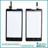 Original new touch screen digitizer touch panel touchscreen for Lenovo P780,free shipping